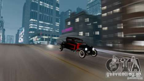 Smith 34 Hot Rod для GTA 4 вид сзади
