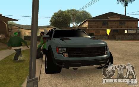 Ford Velociraptor для GTA San Andreas вид слева