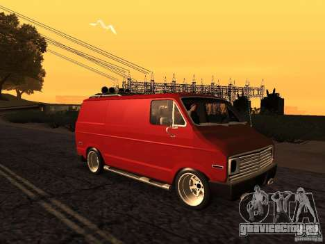 Dodge Tradesman 1976 Tuned для GTA San Andreas