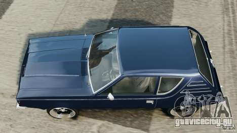 AMC Gremlin 1973 для GTA 4 вид справа