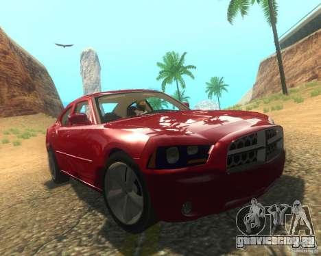 Dodge Charger 2011 для GTA San Andreas вид снизу