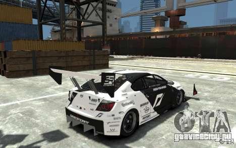 Scion tC AWD V1.0 для GTA 4 вид справа