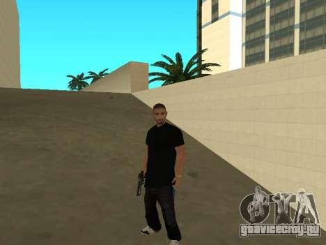 Black Rifa SkinPack для GTA San Andreas второй скриншот
