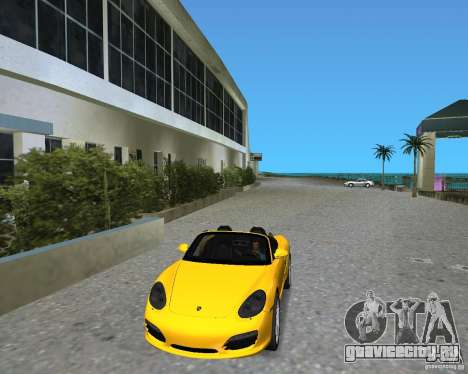Porsche Boxster 2010 для GTA Vice City