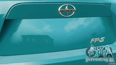 Scion FR-S для GTA 4 колёса