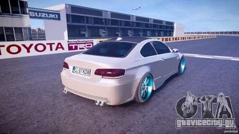 BMW E92 для GTA 4 вид сверху