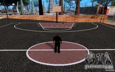 Новая баскетбольная площадка для GTA San Andreas четвёртый скриншот