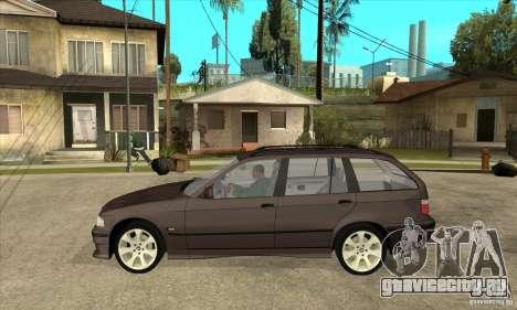 BMW 318i Touring для GTA San Andreas вид сзади слева