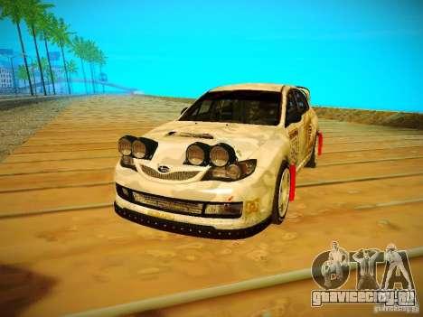 Subaru Impreza WRX STi N14 Rallycross для GTA San Andreas