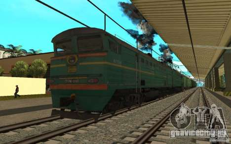 ЖД мод II для GTA San Andreas шестой скриншот
