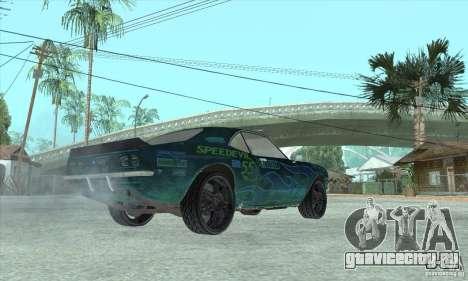 Speedevil из игры FlatOut для GTA San Andreas вид сбоку