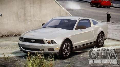 Ford Mustang V6 2010 Premium v1.0 для GTA 4