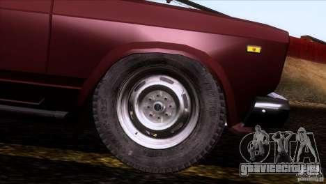 ИЖ 27175 для GTA San Andreas колёса