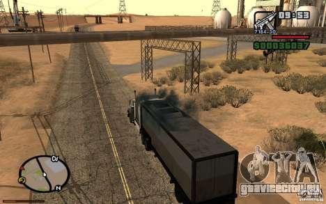 Активная приборная панель v3.2b для GTA San Andreas пятый скриншот