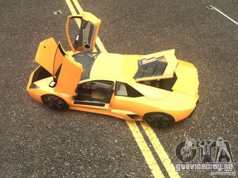 Lamborghini Reventon 2008 для GTA 4 вид сзади слева