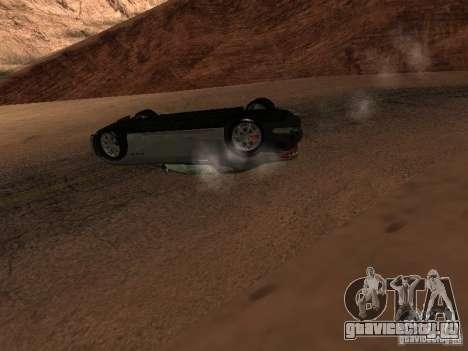 Перевернутые автомобили не горят для GTA San Andreas седьмой скриншот