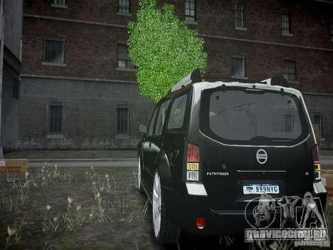 Nissan Pathfinder 2010 для GTA 4 вид сзади слева