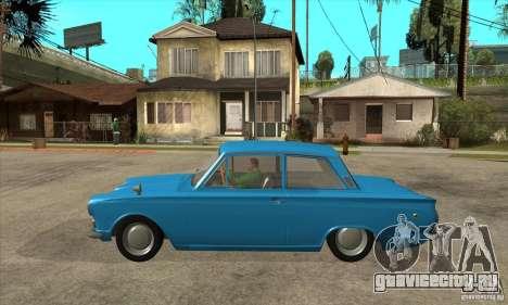 Lotus Cortina Mk1 1963 для GTA San Andreas вид слева