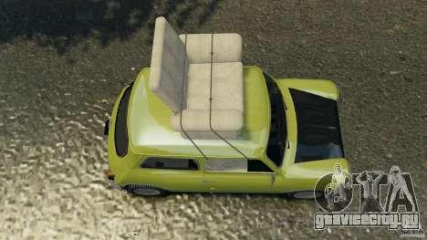 Mini Cooper для GTA 4 вид справа
