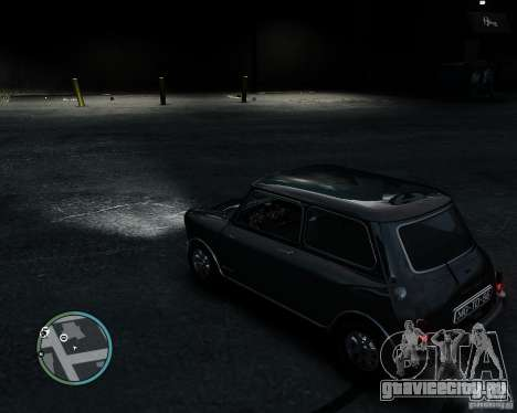 Austin Mini Cooper S для GTA 4 вид сзади