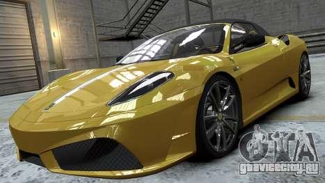 Ferrari Scuderia Spyder 16M для GTA 4