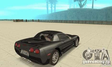 Chevrolet Corvette 5 для GTA San Andreas вид слева