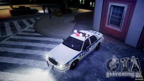 Ford Crown Victoria CVPI-V2.5V для GTA 4 вид снизу