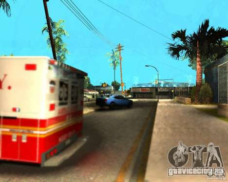 ENB For medium PC для GTA San Andreas шестой скриншот
