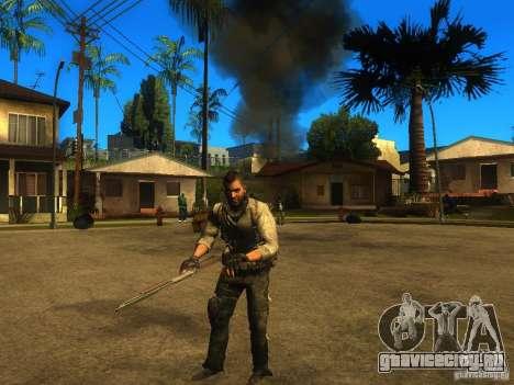 Animation Mod для GTA San Andreas четвёртый скриншот