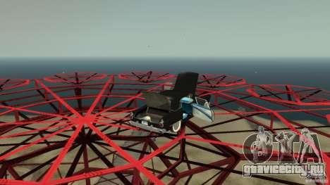 Smith Thunderbolt Mafia II для GTA 4 вид сверху