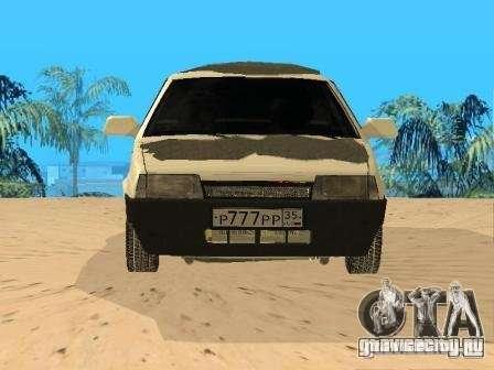 ВАЗ 21099 Зимняя для GTA San Andreas вид справа