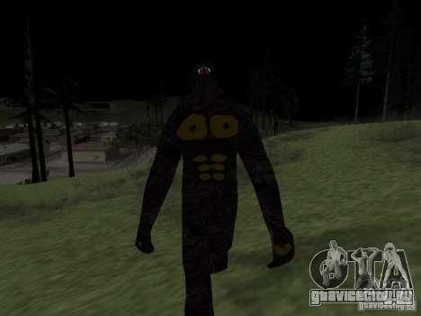 Снежный человек для GTA San Andreas третий скриншот