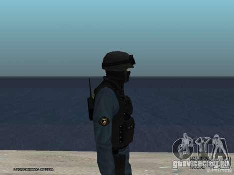Сотрудник ОМОН для GTA San Andreas шестой скриншот
