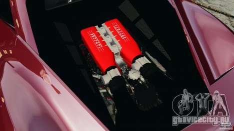 Ferrari 458 Italia 2010 v2.0 для GTA 4 вид сбоку