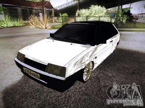 ВАЗ 2108 Хром для GTA San Andreas