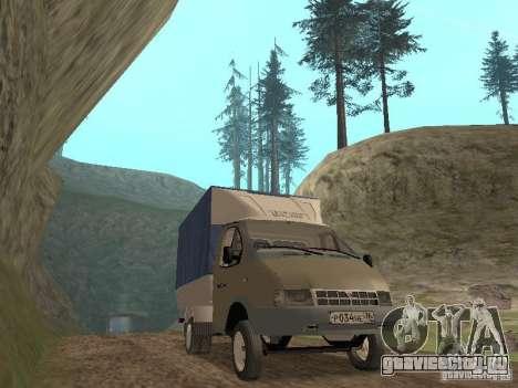 ГАЗ 3302 2001г.в. для GTA San Andreas вид слева