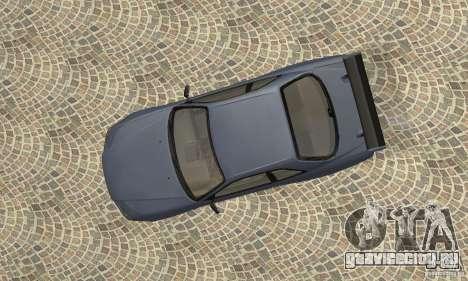 Nissan Skyline R-34 GTR для GTA San Andreas вид сзади
