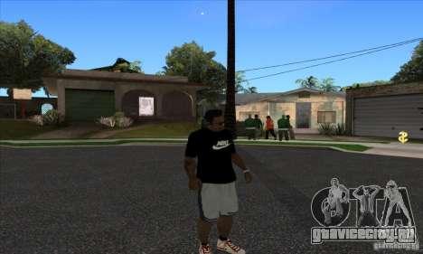 Футболка Nike для GTA San Andreas третий скриншот