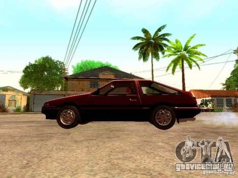 Toyota Corolla Carib AE 86 для GTA San Andreas вид слева