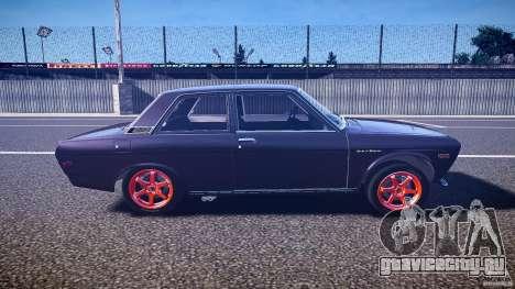 Datsun Bluebird 510 Tuned 1970 [EPM] для GTA 4 вид изнутри
