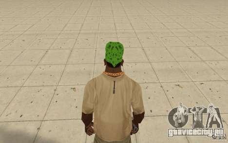 Бандана maryshuana green для GTA San Andreas третий скриншот