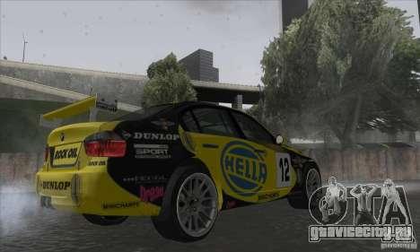 BMW 320i GRID для GTA San Andreas вид справа