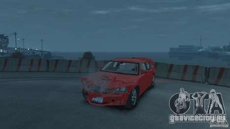 Dodge Charger 2007 SRT8 для GTA 4 вид сбоку