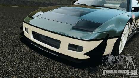 Nissan 240SX Time Attack для GTA 4 вид сверху