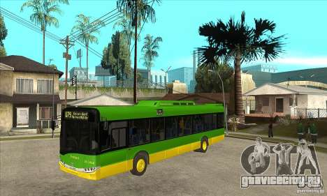 Solaris Urbino 11 для GTA San Andreas