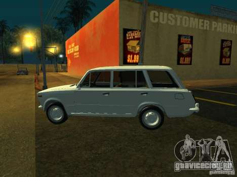 ВАЗ 2106 Универсал для GTA San Andreas вид сзади слева
