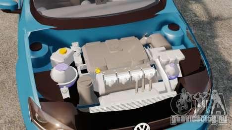 Volkswagen Voyage G6 2013 для GTA 4 вид сбоку