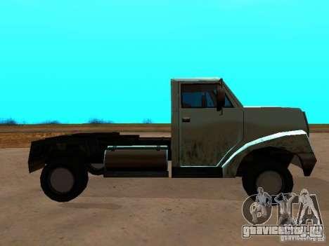 Yankee Truck для GTA San Andreas вид слева