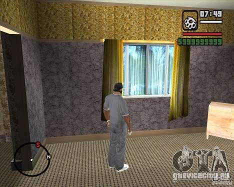 Замена всего дома CJея для GTA San Andreas седьмой скриншот