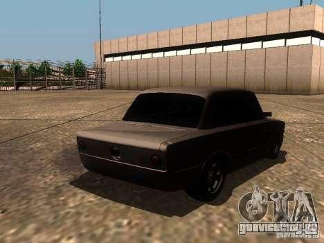 ВАЗ 2106 Drag Racing для GTA San Andreas вид сзади